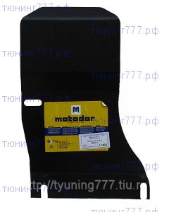 Защита зад. дифференциала, Motodor, сталь 3мм., для 2.0 dCi, 2.5л