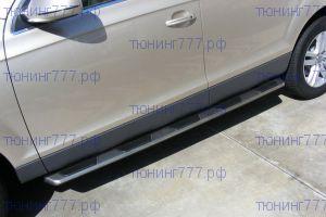 Боковые подножки Gaoblao, копия оригинала, алюминий с пластик. накладкой