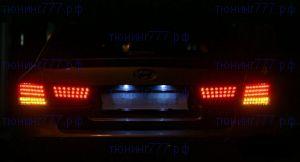Задние диодные LED фонари, а/м 2006-2010