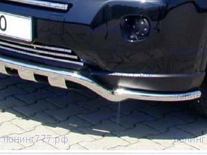 Защита переднего бампераSeko, уголки, нерж. сталь ф 40мм