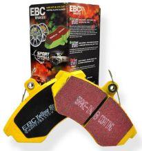 Тормозные колодки EBC, серия Yellow Stuff, передний к-кт для 3.5л (2003-2005)
