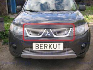 Решетка радиатора Berkut, нерж. сталь