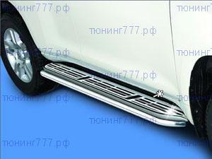 Накладки на оригинальные подножки, Antec, в к-кте с накладкой на задний бампер