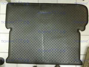 Коврик (поддон) в багажник, Unidec, черный полиуретановый с бортиками, для 7 местного салона