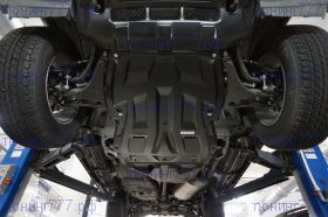 Защита картера и кпп, АВС-Дизайн, композитная 8мм., для V-3,0 и 3,2TD