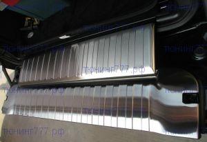 Накладки на панели откидного борта, нерж. сталь 2шт