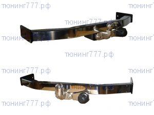 Фаркоп Baltex, торцевой крюк и накладка из нерж. стали, тяга 1.5т
