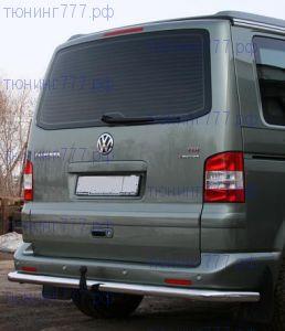 Защита заднего бампера Souz-96, нерж. сталь ф 60мм., а/м Multivan California 4x4
