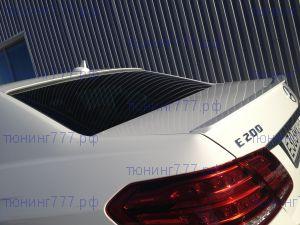 Накладки на крышку багажника и заднее стекло, 888, под окраску