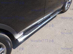 Подножки боковые, ТСС, нерж. сталь ф 120х60мм