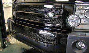 К-т из 3х решеток Grillcraft, серия MX, оцинкованная сталь, черные
