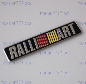 Эмблема RalliArt, наклейка