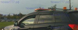 Ветровики 4х окон Cobra, серия Eurostandart, темно-дымчатые