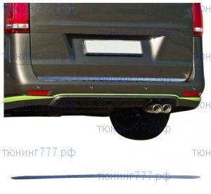 Накладка на нижнюю кромку крышки багажника (кант), Omsaline, нерж. сталь