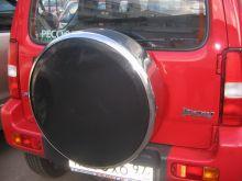 Чехол (колпак) запасного колеса, R-Tuning, обод нержавеющая сталь