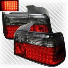 Задняя LED оптика, красная, к-кт на седан