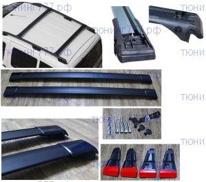 Багажник на крышу с рейлингами, Wingbar, алюминий