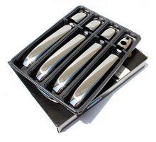 Накладки на ручки 4х дверей, Omsaline, нерж. сталь