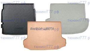 Коврик (поддон) в багажник, Unidec, полиуретановый с бортиками, 3 цвета