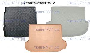 Коврик (поддон) в багажник, Unideс, полиуретановый черный