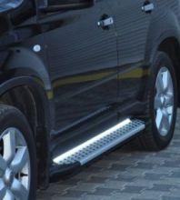 Боковые подножки ARP, серия Artemis, алюминиевые с LED подсветкой