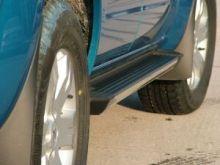 Боковые подножки Voyager, серия Truva, алюминиевые с пластик. накладками