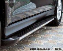Боковые подножки ARP, серия Elegance Black, алюминий с нерж. вставкой