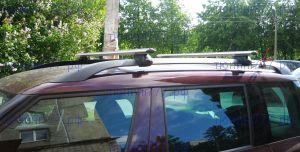 Багажник на рейлинги, Atlant, аэродинамические дуги