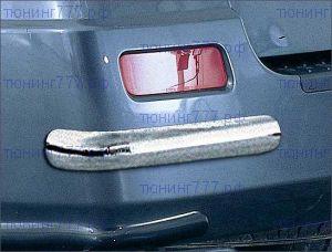 Защита заднего бампера, Antec, нерж. сталь