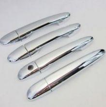 Накладки на ручки 4х дверей, хром к-кт
