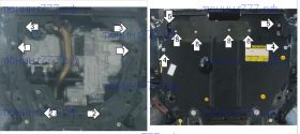 Защита картера Motodor, сталь 2мм., V - 2.0 i-DTEC, 2.2 i-DTEC, 2.4 i-DTEC