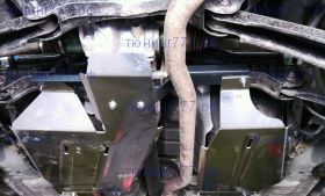 Защита бензобака и дифференциала, ТСС, алюминий 4мм