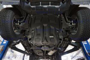 Защита картера и кпп, АВС-Дизайн, композит 8мм., для V-3,0 и 3,2TD