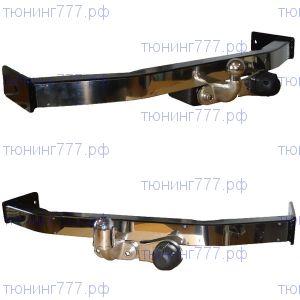 Фаркоп Baltex, накладка и торцевой крюк из нерж. стали, тяга 1.5т