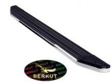 Боковые подножки Berkut, окантовка из нерж. стали, основа алюминий