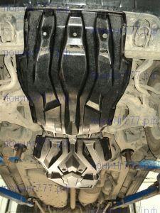 Защита картера и кпп, АВС-Дизайн, композитная 10мм., V-все