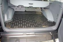 Коврик (поддон) в багажник, Aileron, черный с бортиками, 5 мест салон