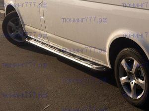 Боковые подножки Can, серия Сапфир II, алюминий с прорезинеными вставками