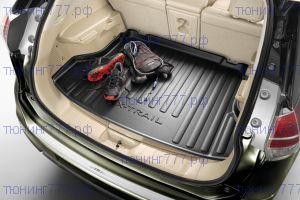 Коврик (поддон) в багажник, Оригинал, пластик