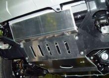 Защита радиатора и двигателя, Metec, алюминий 5мм