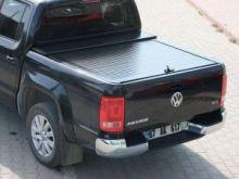 Крышка кузова, Voyager, алюминиевая, цвет черный