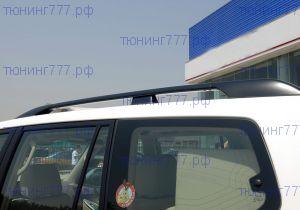 Рейлинги крыши, agt4x4, черные алюминиевые, 5дв. кузов