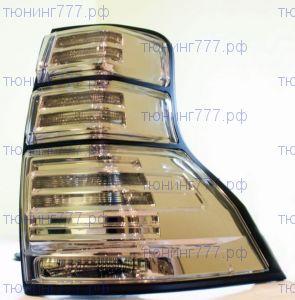 Фонари задние LED cветодиодные, стиль Chrome, к-кт
