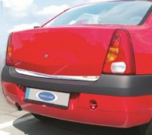 Накладка на низ двери багажника, Omsa, нерж. сталь, а/м 2004-2008