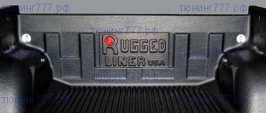 Вставка в кузов, Rugged Liner, пластик под борт, для DCab
