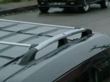 Рейлинги на крышу, Voyager, отполированый алюминий, длинная база