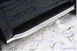 Защита оригинальных подножек, SM, нерж. сталь ф 60мм