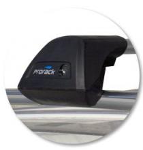 Багажник на рейлинги, Whispbar, аэродинамические дуги, а/м 2007-2009