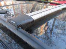 Багажник на рейлинги, FicoPro, аэродуги, а/м с 07.2015-