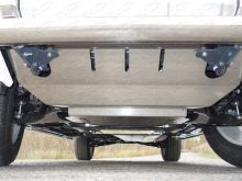 Защита радиатора, раздатки, кпп и картера двс, ТСС, алюминий 4мм
